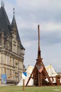Château et campement médiéval