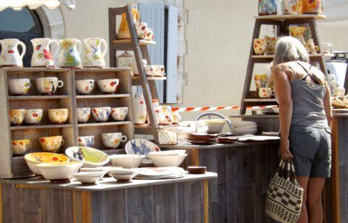Exposition professionnelle de céramique