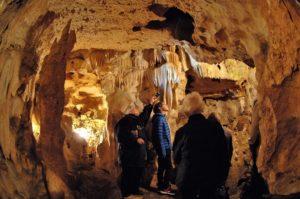 Visite guidée des grottes