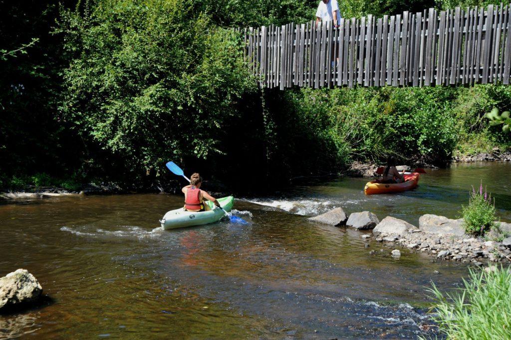 Randonnée en kayak sur la Tardoire