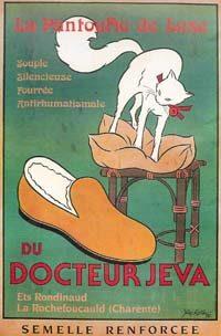 Ancienne affiche La Charentaise du Docteur Jeva