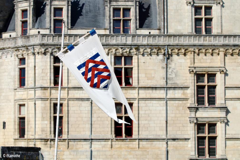 Façade du château de La Rochefoucauld